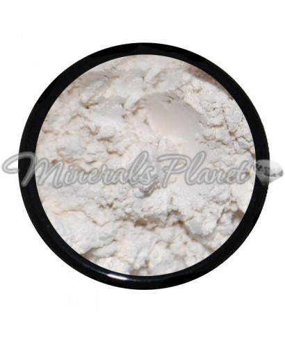 Минеральные тени, пигмент White satin - Sweetscents фото, свотчи