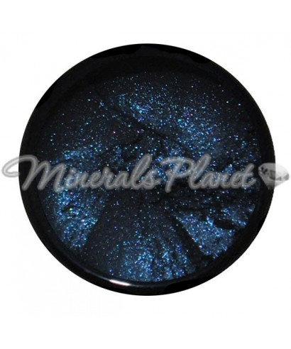 Минеральные тени Blackstar blue sweetscents фото, свотчи