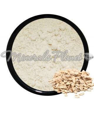 Натуральная пудра овсяная Oatmeal powder - фото , свотчи