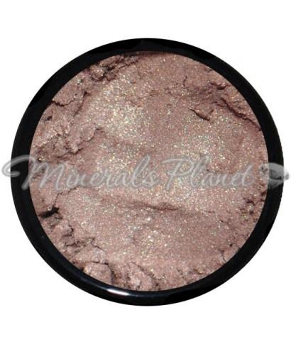 Минеральные коричневые тени Rock star - heavenly minerals свотчи