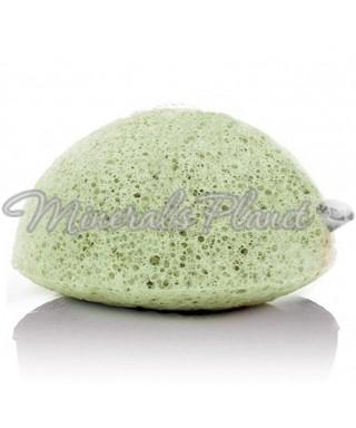 Konjac sponge зеленая