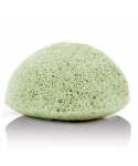 Konjac sponge губка Конжак для умывания зеленая