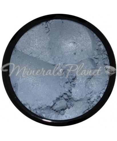 Минеральные серо-синие тени Slate blue - Heavenly minerals свотчи
