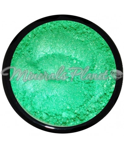 Минеральные тени, пигмент Laser lime - heavenly minerals
