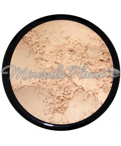 Минеральная пудра Light-medium heavenly minerals - фото, свотчи