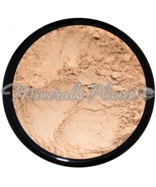 Минеральная пудра Light tan антиоксиданты Heavenly mineral - Фото,свотчи