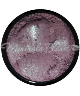 Минеральные тени Smokey purple glimmer - Heavenly minerals свотчи