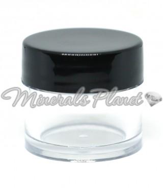 Пластиковая баночка для минеральной косметики