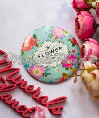 Зеркало компактное одностороннее Flower 3