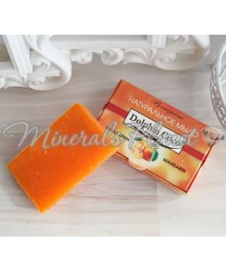 Натуральное мыло ручной работы Мандарин dolphin coco
