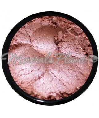 Минеральные тени, пигмент Petal pink от Monave, фото и свотчи