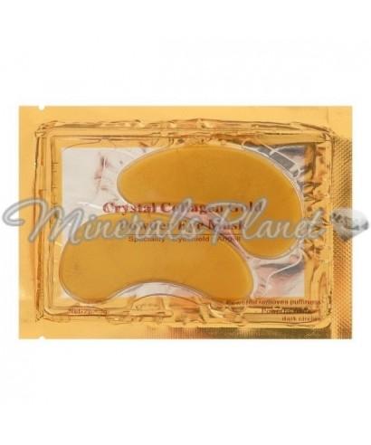 Коллагеновые патчи для глаз Collagen Crystal, золотые, 2*3 г
