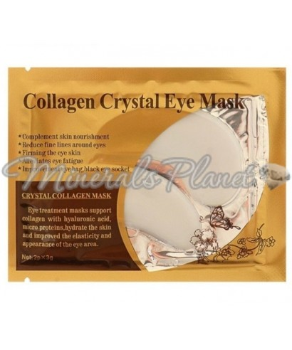 Патчи гелевые для глаз Collagen Crystal, белые, 2*3 г