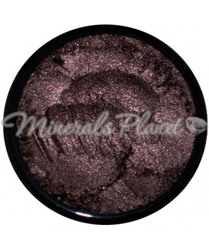 Минеральные тени, пигмент Drama от Heavenly minerals фото, свотчи