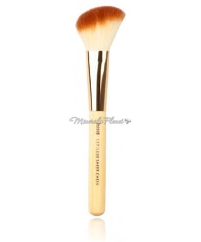 Кисть Bamboo lux 127 Sheer cheek для минеральных румян, бронзера или хайлайтера
