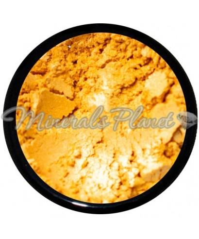 Минеральные тени Flat gold - sweetscents фото, свотчи