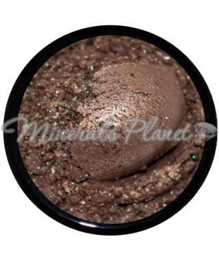 Минеральные тени, пигмент Hemp - Monave фото, свотчи, макияж