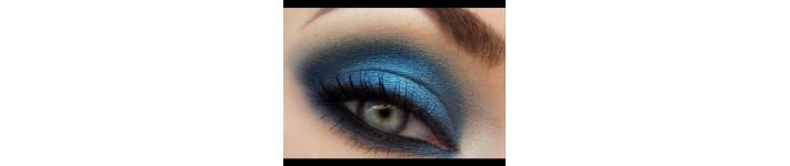 Голубые, синие, бирюза
