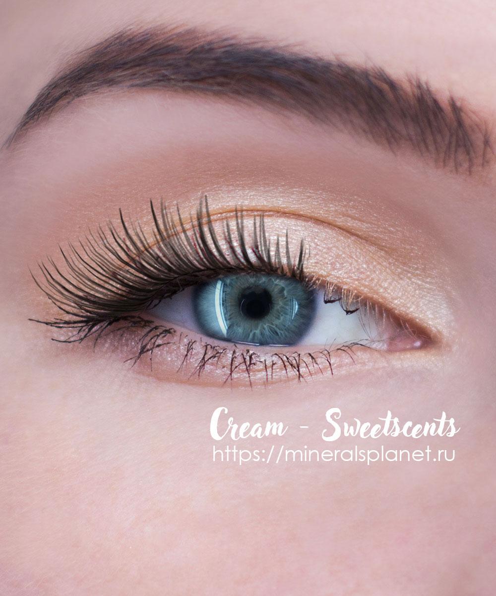 Минеральные тени Cream - Sweetscents