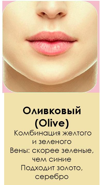 Оливковый подтон кожи
