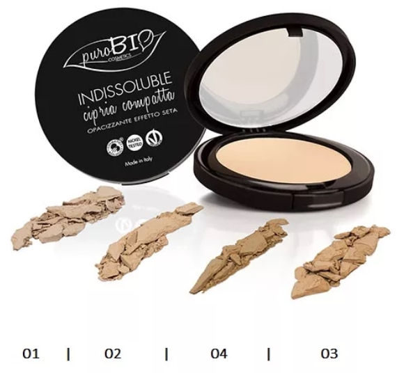 Минеральные основы компактные Purobio cosmetics