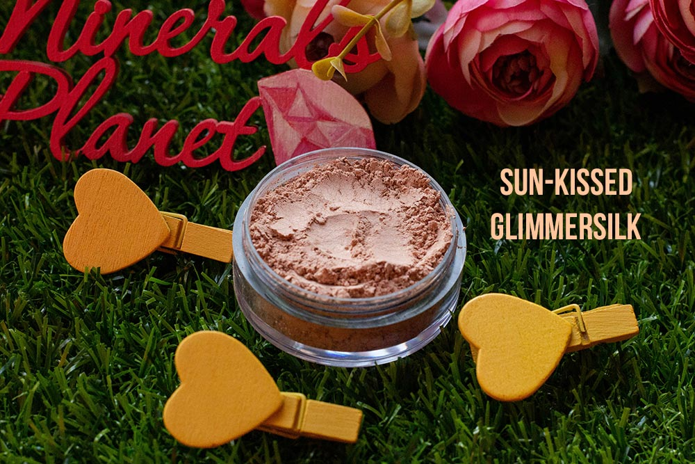 Минеральная вуаль Sun-kissed glimmersilk heavenly minerals