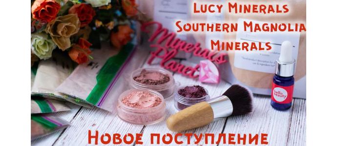 Новое поступление Lucy Minerals + Southern magnolia minerals 12.02.2019