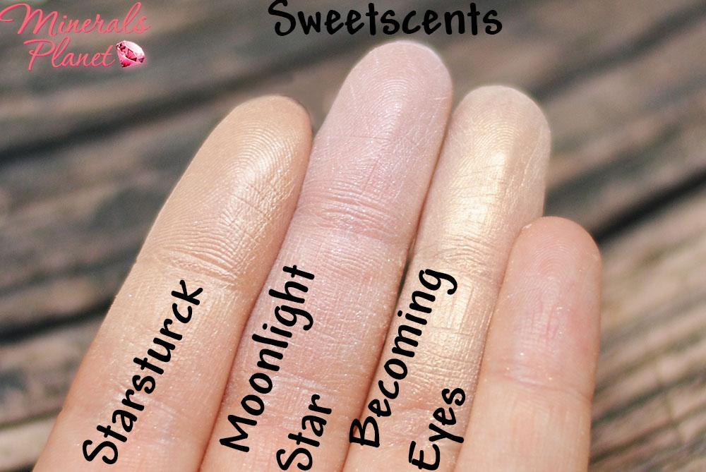Свотчи иллюминайзеров Sweetscents