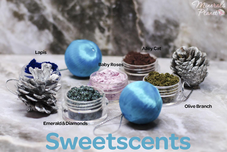 Минеральные тени Sweetscents